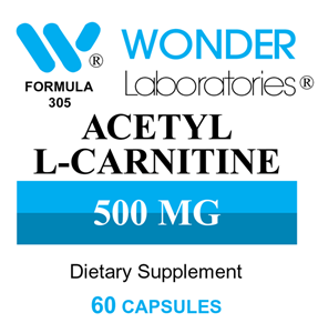 Acetyl L-Carnitine for improved brain function, mood, and memory