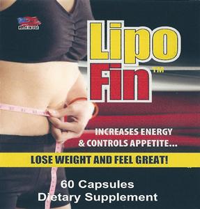 Lipo-Fin Product Label