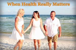 Healthy Family Walking On Beach - Healthy Steps Supplements