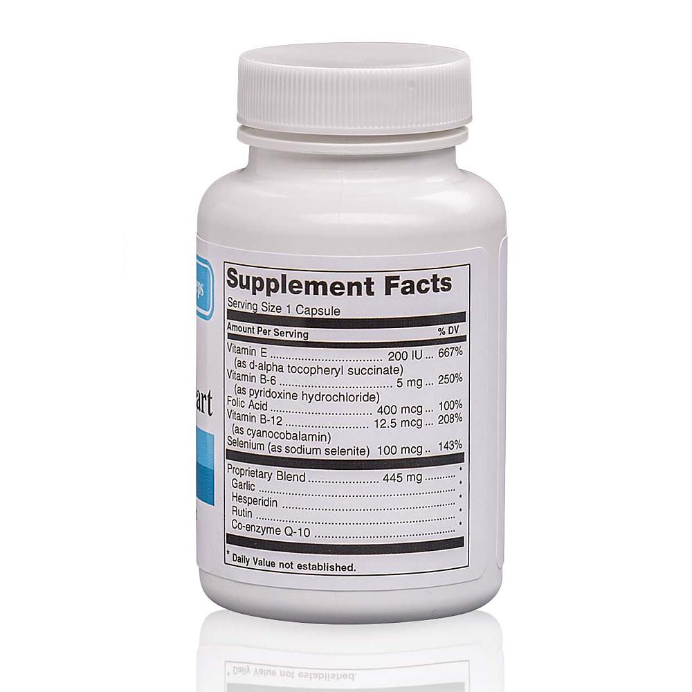 Healthy Heart Formula Back