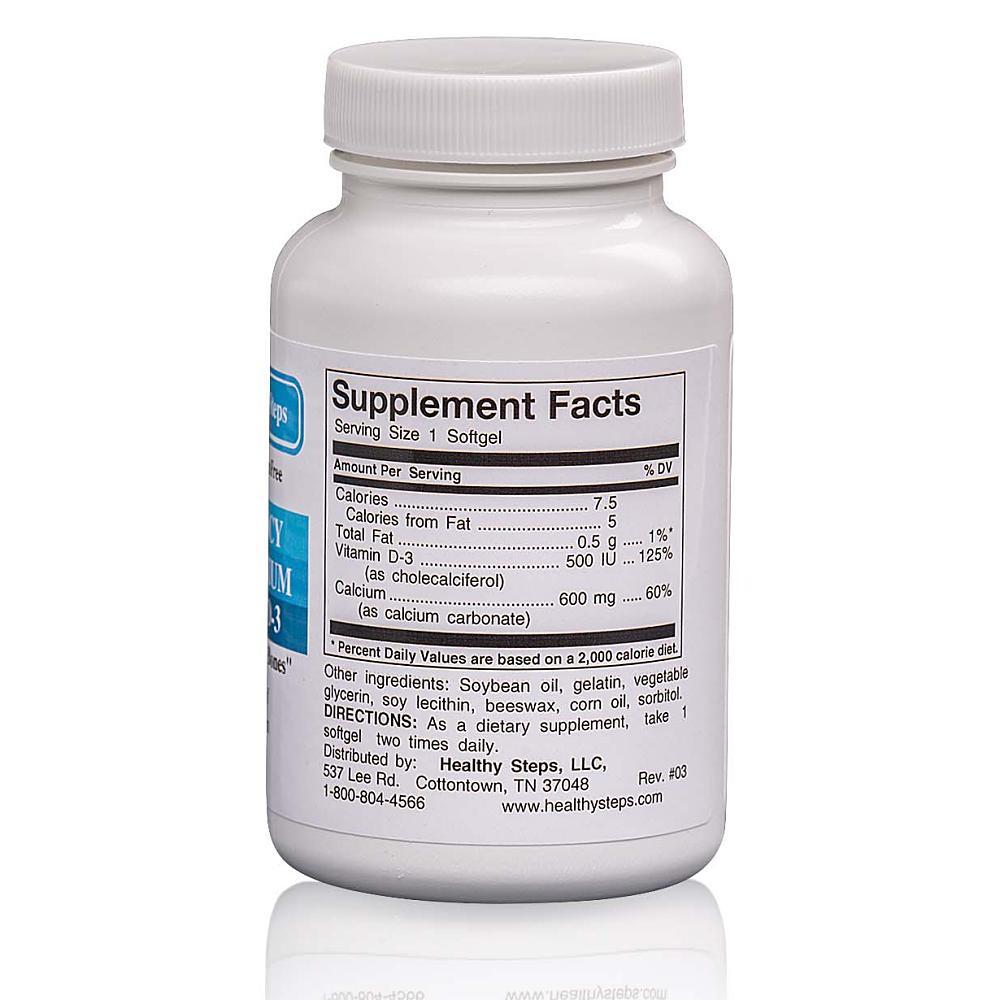 High Potency Liquid Calcium Back