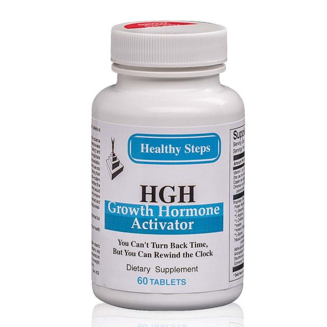 HGH Activator Front