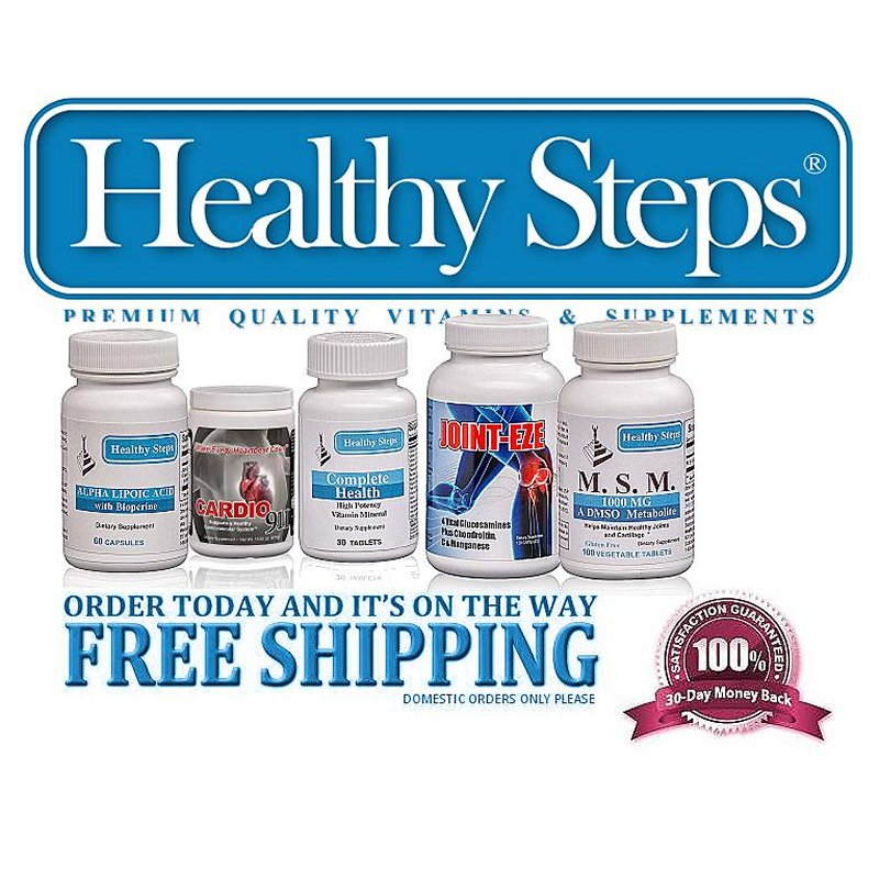 Healthy Steps LLC offers Free Shipping