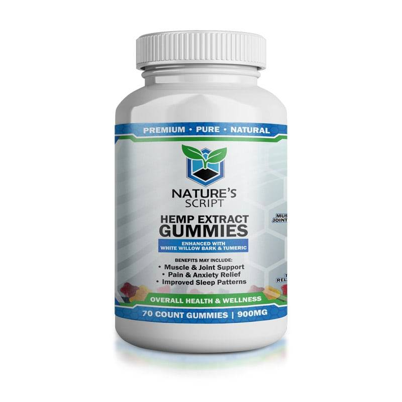 Hemp Gummies 70ct Front
