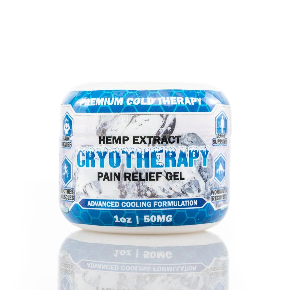 1 oz Hemp Extract Pain Gel