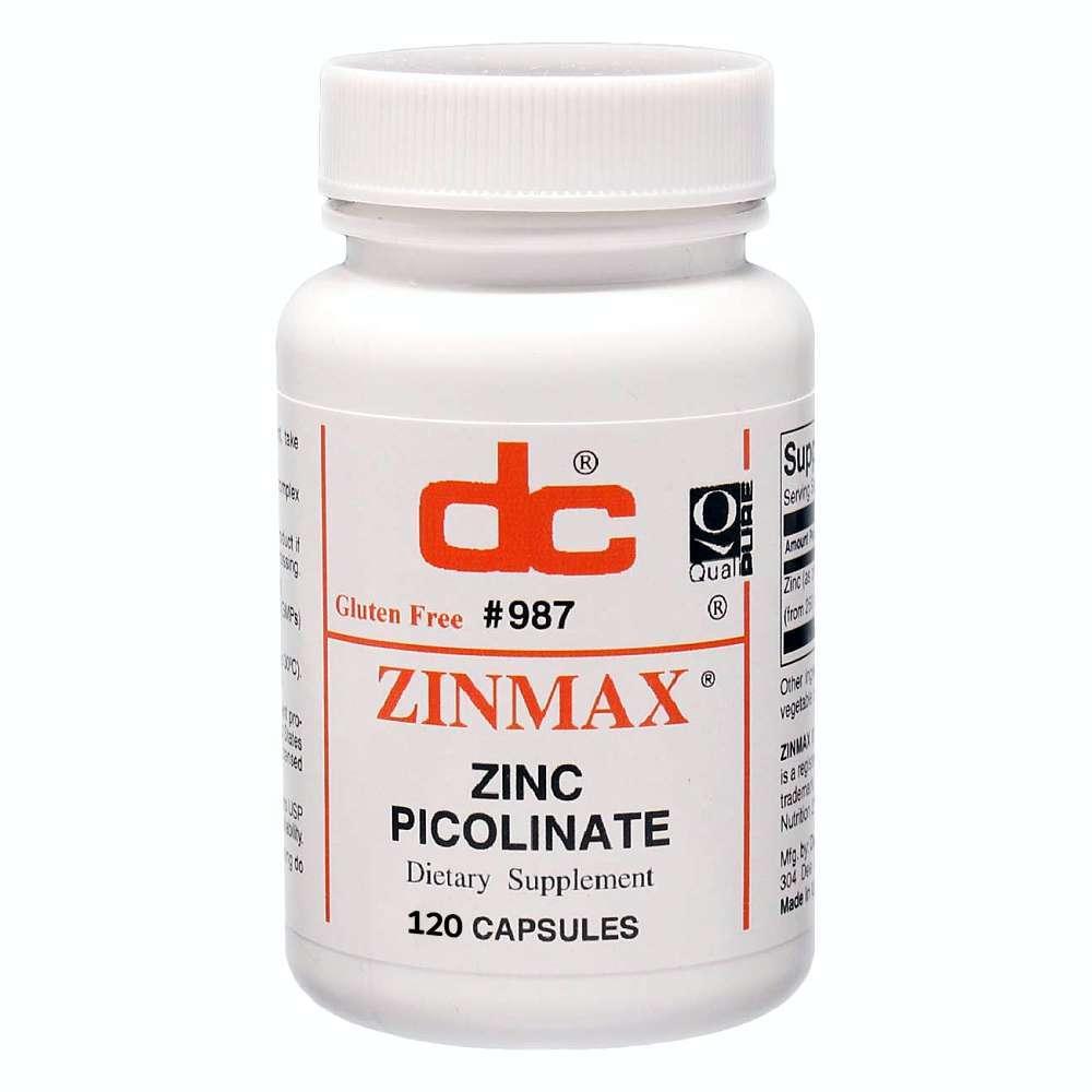 Zinc Picolinate 120ct Front